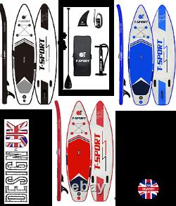 Inflatable Paddle Board SUP Stand Up Paddleboard & Accessories T-Sport Set