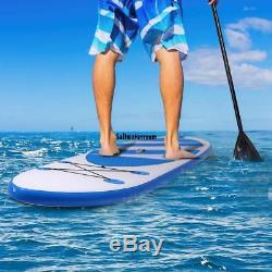 Inflatable SUP Stand Up Paddle Board 10', Inflatable Paddle Board with Backpack