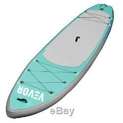 Inflatable SUP Stand Up Paddle Board, Paddle, Pump & Carry Bag