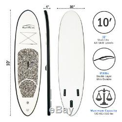 Inflatable SUP Stand up paddle board Surfbod10304withPaddle, pack, leash, pump