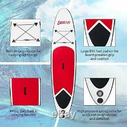 Inflatable Stand Up Paddle Board 10x28x6 Inch Round Board Include Hand Pump