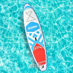 Inflatable Stand Up Paddle Board 11x33''x6'' Wide Stance Anti-Slip Deck Adults