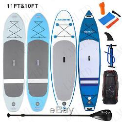 Inflatable Stand Up Paddle Board (6 Inches Thick) Universal SUP Wide Stance LOT