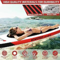 Inflatable Stand Up Paddle Board SUP Surfboard Without Seat Chair11' 6'' Thick