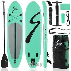 Inflatable Stand Up Paddle Board SUP Surfboard withComplete kit Pump and Bag US