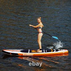 Inflatable Stand Up Paddle Board Surfboard with complete kit 6'' thick