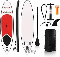 Inflatable Stand Up Paddleboard with Premium SUP Accessories & Carry Bag