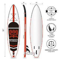 Inflatable Sup Stand Up Paddle Board Surf Sup + Accessories + 1 year warranty