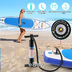 Inflatable Super Stand Up Paddle Board Surfboard Beach Paddle 350lbs Load Gifts