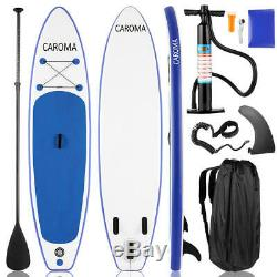Inflatable Super Stand Up Paddle Board Surfboard Fin Beach Paddle Portable