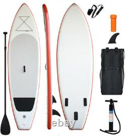 Inflatable stand up paddle board 11'long 33width 6thickness isup paddle board