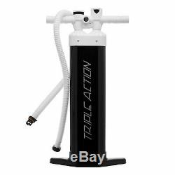 JLF Triple Action Hand Pump For Inflatable Stand Up Paddle Boards (SUP)