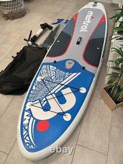 Mistral Stand Up Paddle Board 2020 SUP mit Paddel + Pumpe + Finne iSUP
