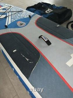 Mistral Stand Up Paddle Board 2020 SUP mit Paddel + Pumpe + Tasche iSUP