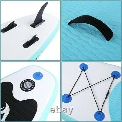NEW 10ft Inflatable SUP Paddle Board Stand Up Surfboard Surfing Paddleboard