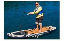 NEW Aquaglide 58-5216105 Blackfoot Angler Inflatable Stand Up Paddle Board
