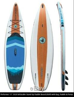 NEW Body Glove Performer 11' Inflatable Stand Up Paddle Board 2020 Package