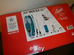 NEW Jobe Volta superior 10' Inflatable SUP Stand up Paddle Board Package
