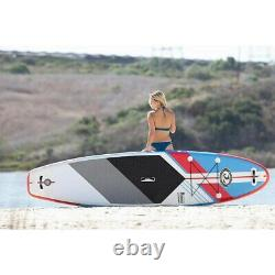 New Cbc California Board Company Fusion Inflatable 11' Sup Stand Up Paddleboard