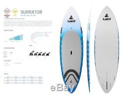 New Laird Hamilton Stand Up Surrator PVC 7'10 Paddle Board SUP 2017 Ret$2000