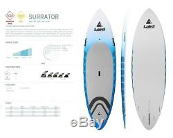 New Laird Hamilton Stand Up Surrator PVC 8'10 Paddle Board SUP 2017 Ret$2000