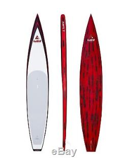 New Laird Stand Up LX Race Carbon 14' LXR Red Paddle Board Touring SUP Ret$2500