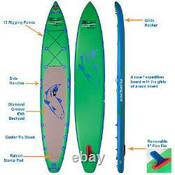 Odyssey Inflatable Stand Up Paddle Board race 14 travel