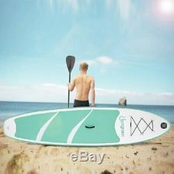 Outdoor 10FT Inflatable SUP Surfboards Stand Up Paddle Board Paddle Pump Kit TO