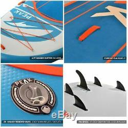 PEAK Titan 12' x 45 x 8 Inflatable Stand Up Paddle Board Package