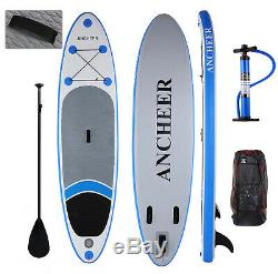 Paddle Board 12ft Sports Surf Inflatable Stand Up Water Racing SUP Bag Pump FUN
