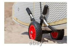 Paddle Board Standup Carrier Dolly Rack Surf Cart Aluminum Trolley Stand Up SUP