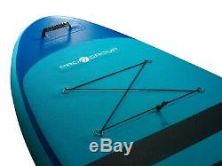 Pro6 P6-Cruise ISUP Inflatable Stand-Up Paddle Board 132x35x6, 11' 2 Teal