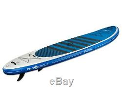 Pro6 P6-Cruise ISUP Inflatable Stand-Up Paddle Board 132x35x6, 11' 2 White