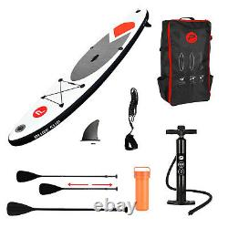 Pure4Fun Inflatable Stand-Up Paddle Board Surfing SUP Set With Accessories Kit