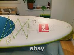 Red paddle co stand up paddle board Voyager 12'6 x 32 Exploring Cruising SUP