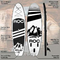 Roc Inflatable Stand Up Paddle Board W Free Premium SUP Accessories & Backpack