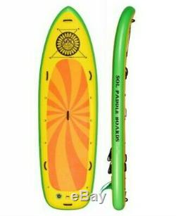 SOL Inflatable SUP Sombrero 11'4 Stand-Up Paddle Board Overnight Gear Vessel