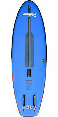 STX Inflatable Windsurf 280 Stand Up Paddle Board SUP HD2 5.5M Rig Package