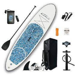 SUP Inflatable Stand Up Paddle Board 10'304/Ad Paddle, Backpack, leash, pump