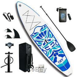 SUP Inflatable Stand Up Paddle Board 10'6x33x6 /Ad Paddle, Backpack, leash, pump