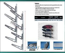 SUP Rack, Wall Mounted Stand Up Paddle Board Rack, Surf Board Racks