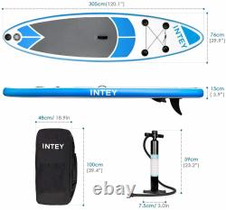 SUP Stand Up Paddle Board Set 6 inch Thick ISUP Surf Board with Air Pump and Bag