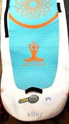 SUP YOGA Art in Surf White Inflatable Standup PaddleBoard 10'2 x 35 x 6/334 L