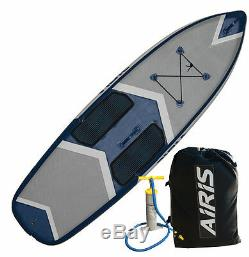 Sale! Airis Hardtop Stubby 9 Inflatable Standup Paddle Board SUP