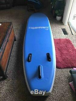 SereneLife Premium Inflatable Stand Up Paddle Board 6 Inches (Blue Color)
