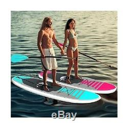 Serene Life 10.5 FT Inflatable Stand Up Paddle Board (SUP) With Accessories