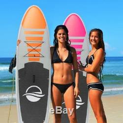 Serene-Life 10.5 FT Inflatable Stand Up Paddle Board (SUP) With Accessories