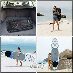 Shaofu 10ft Inflatable Stand Up Paddle Board ISUP Board with Adjustable Paddle a