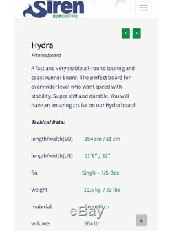 Siren Stand Up Paddle Board Hydra 11'6
