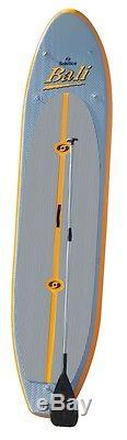 Solstice 35128 Inflatable Stand-Up Light Weight Paddleboard SUP Board withPaddle